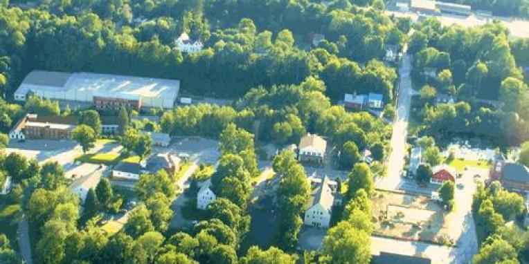 Photo courtesy of Diane Chauncey taken from Al Gould's airplane.