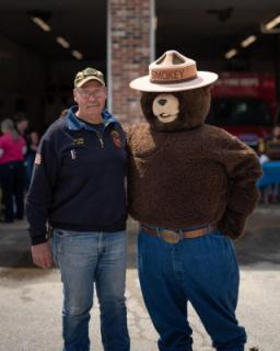 Chief Marshall Gale & Smokey