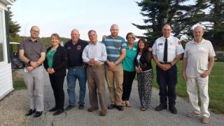 Antrim Ambulance Squad attends MCH awards dinner.
