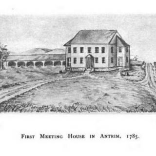 First Antrim Meeting House 1785