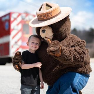 Smokey the bear & Friend
