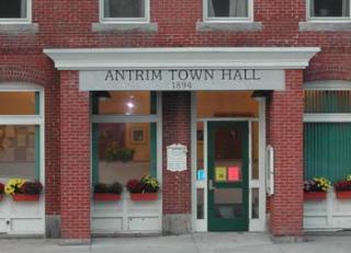 brick town hall building