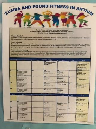 Zumba and Pound with Lisa on Facebook